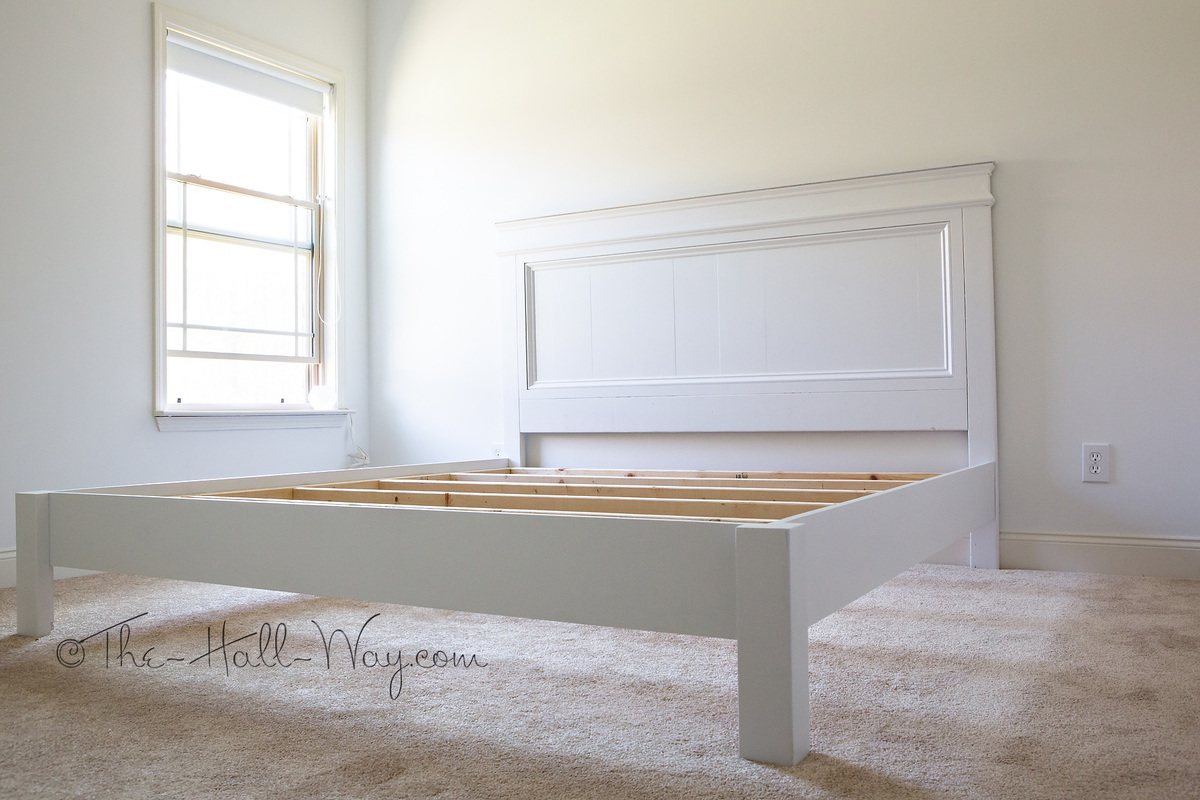 DIY Free King Size Bed Plans Plans Free