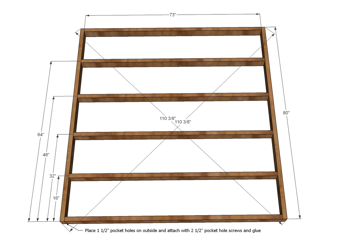 free instructions on how to build a platform bed