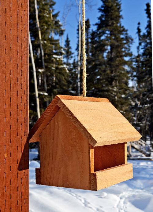 ana white kids kit project 2 cedar birdfeeder diy