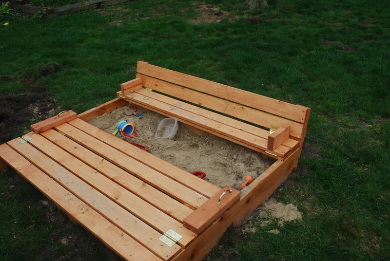sandbox plans with cover