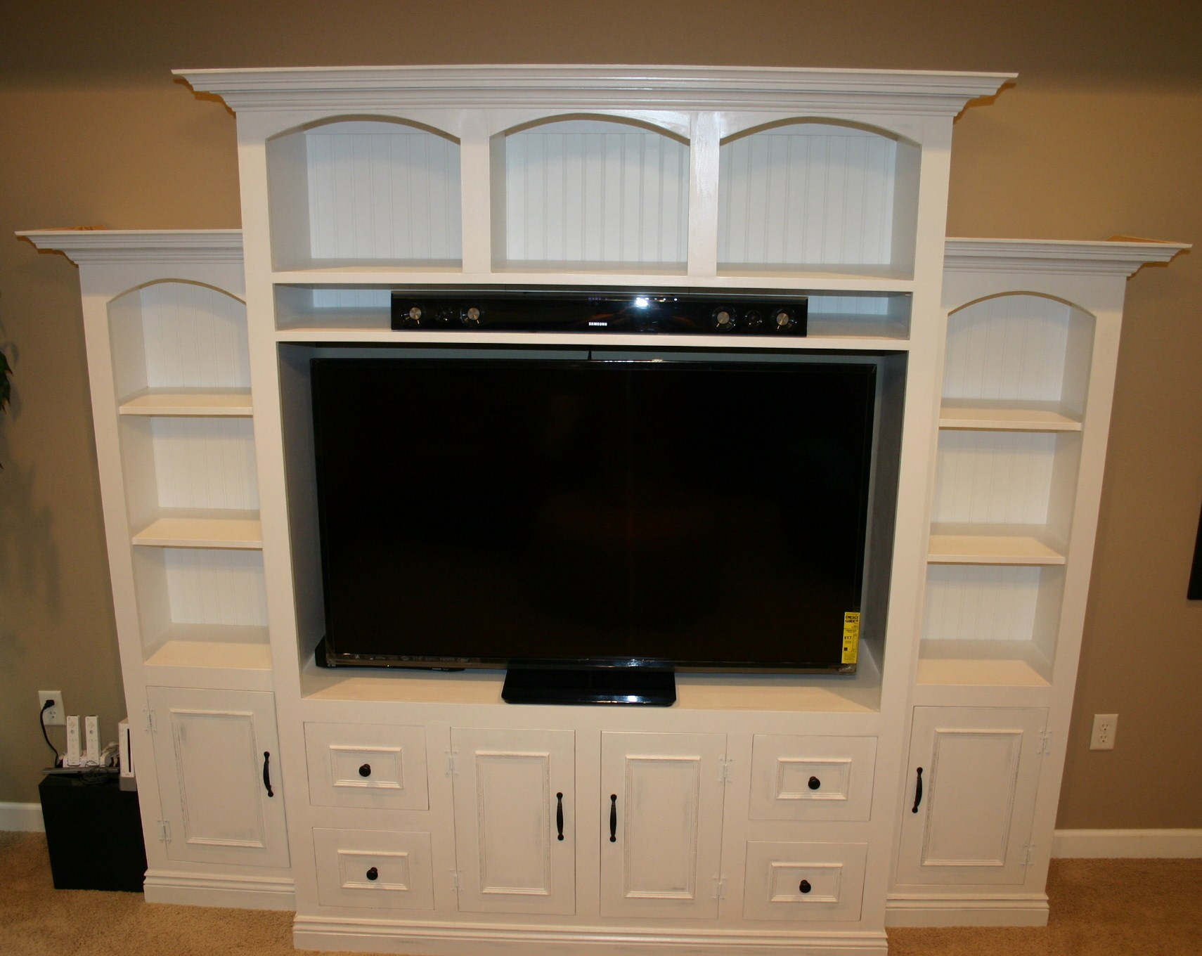 Ana White Entertainment Center For 60 Flat Screen Led
