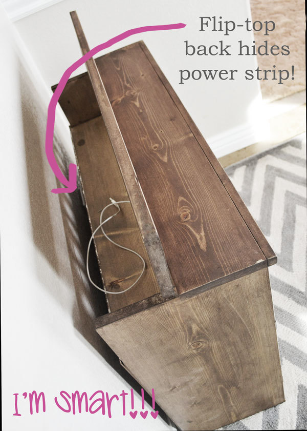 Diy nightstand plans with hidden compartment plans free for Diy hidden compartment