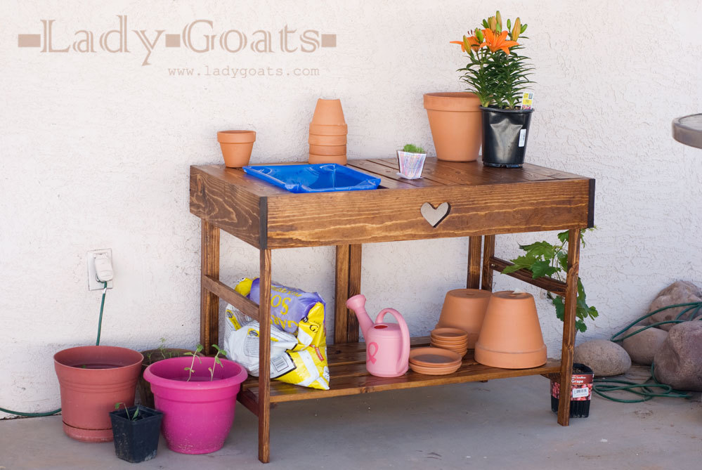 Collapsible Potting Table | Ana White