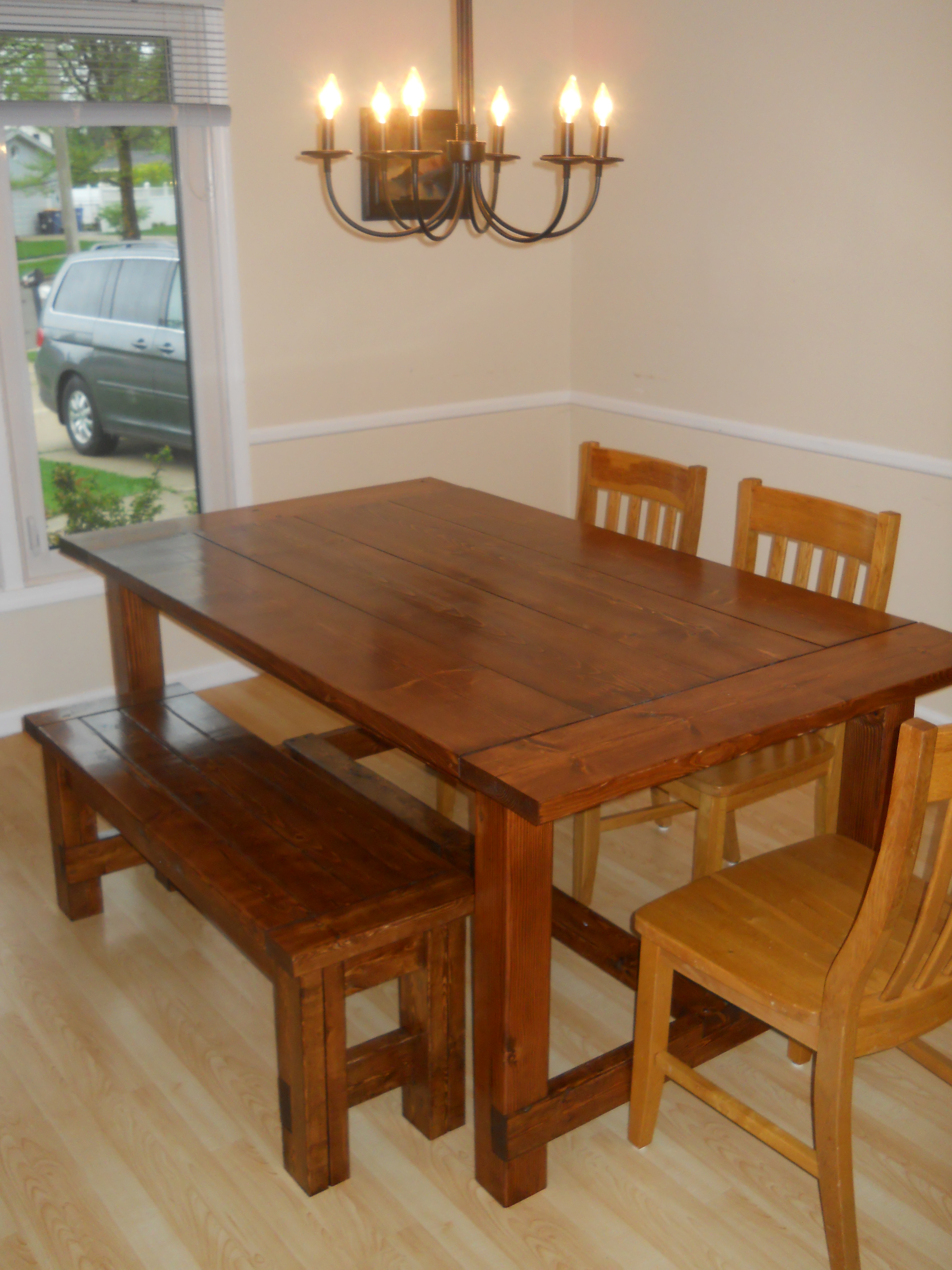 dining room tablea high definition pics | Ana White | Farm House Dining Room Table (Modified with ...
