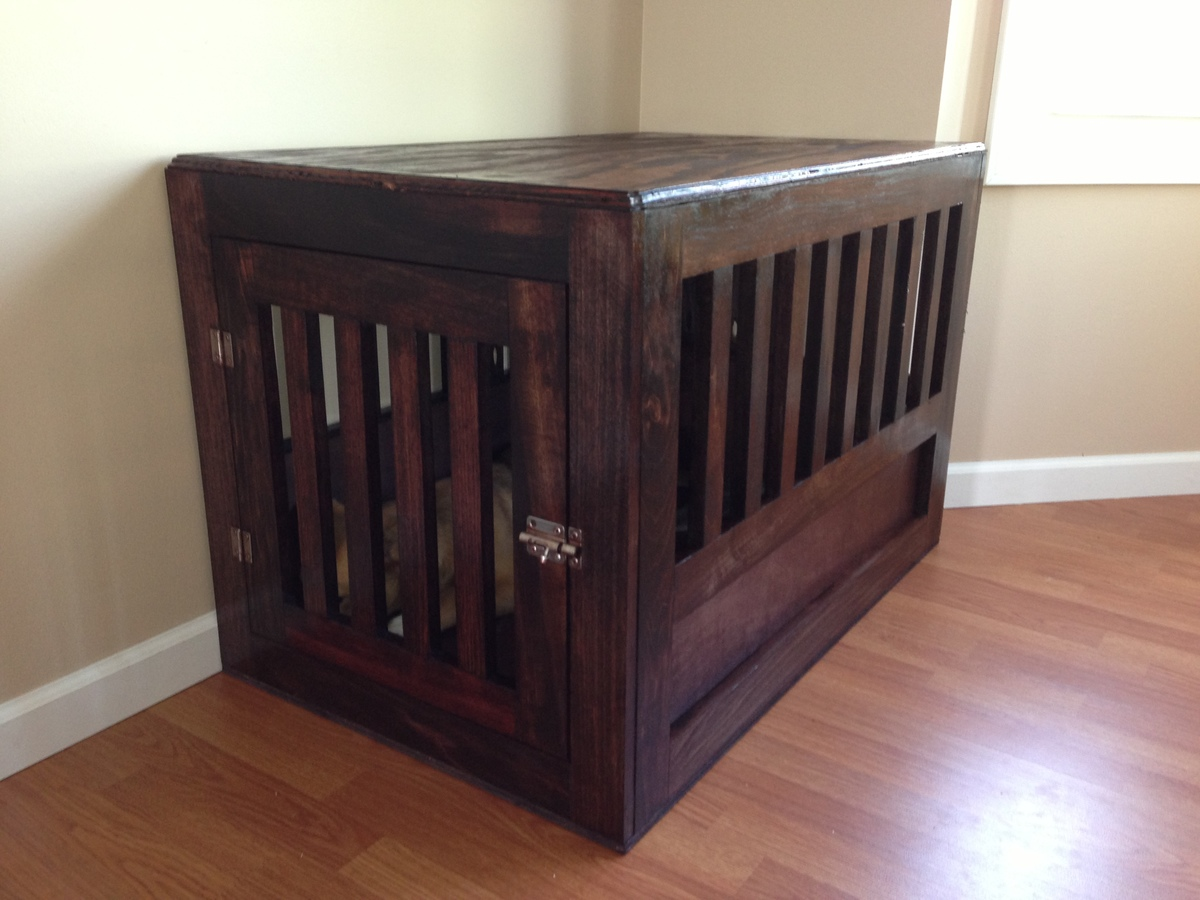 Custom dog crate | Pups | Pinterest