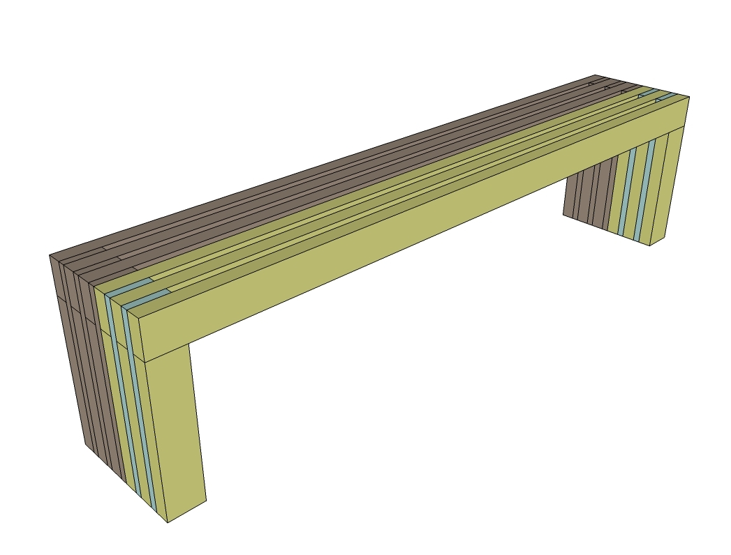 Bench Plans . We Show You How To Build A Garden Bench And Simple Plans . Full resolution‎  photo, nominally Width 1047 Height 796 pixels, photo with #898842.
