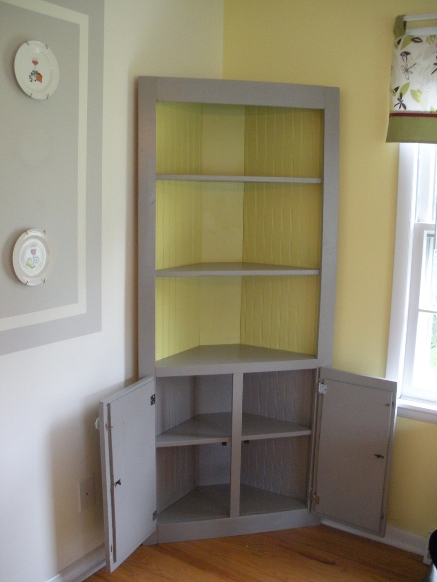 ana white cute corner cabinet diy projects. Black Bedroom Furniture Sets. Home Design Ideas
