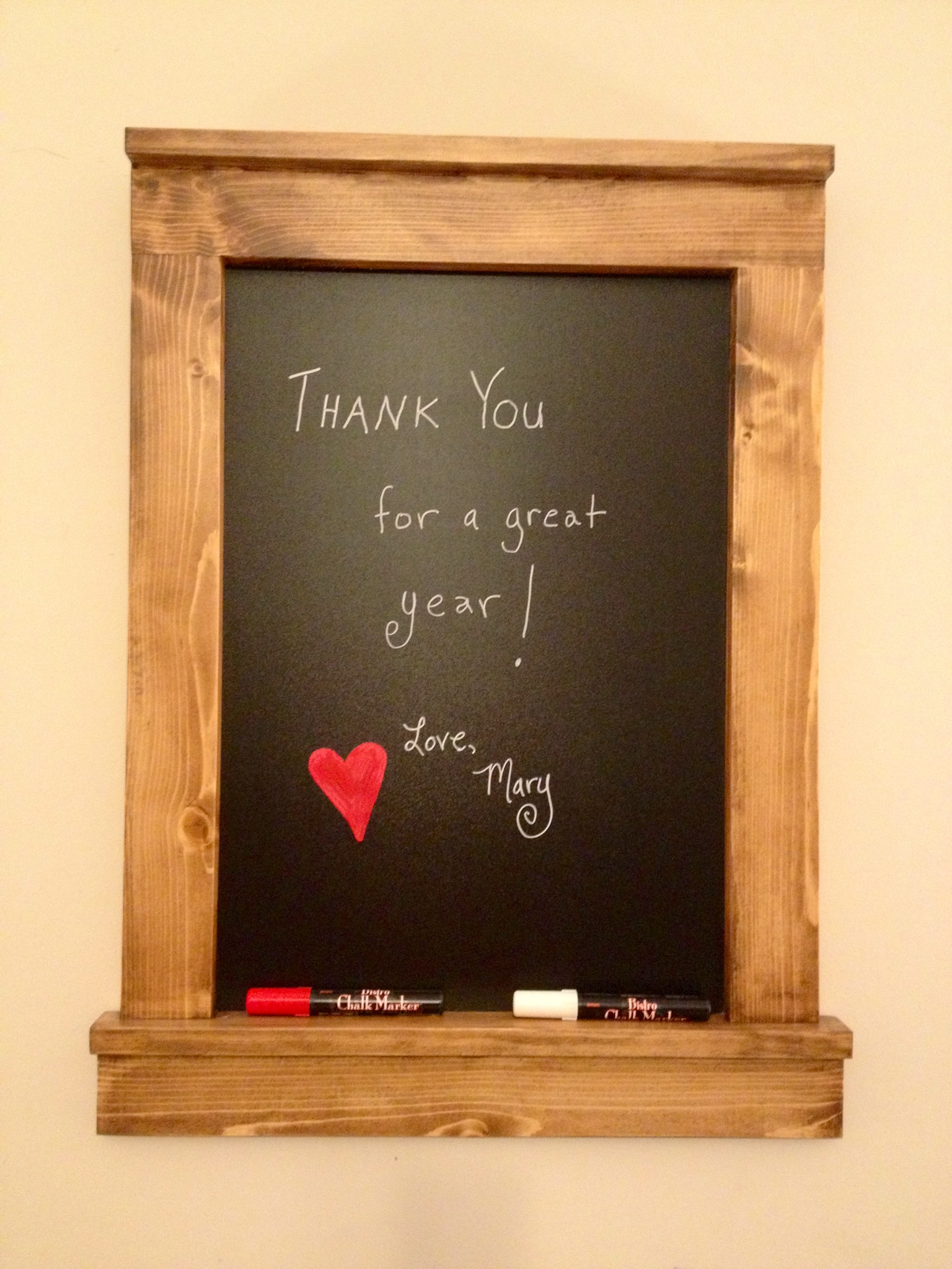 Ana White Framed Chalkboard Gift Diy Projects