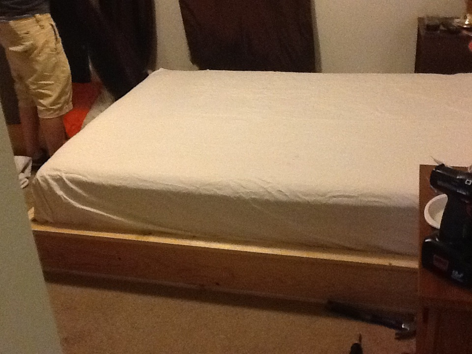 Permalink to make my own queen size platform bed