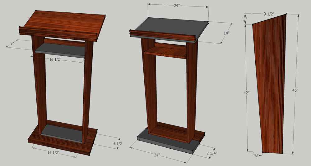 Woodworking+Plans+Podium Download Plans For Building A Wooden Pulpit ...