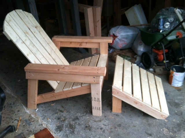 Adirondack Chair (Home Depot Version) | Do It Yourself Home Projects ...