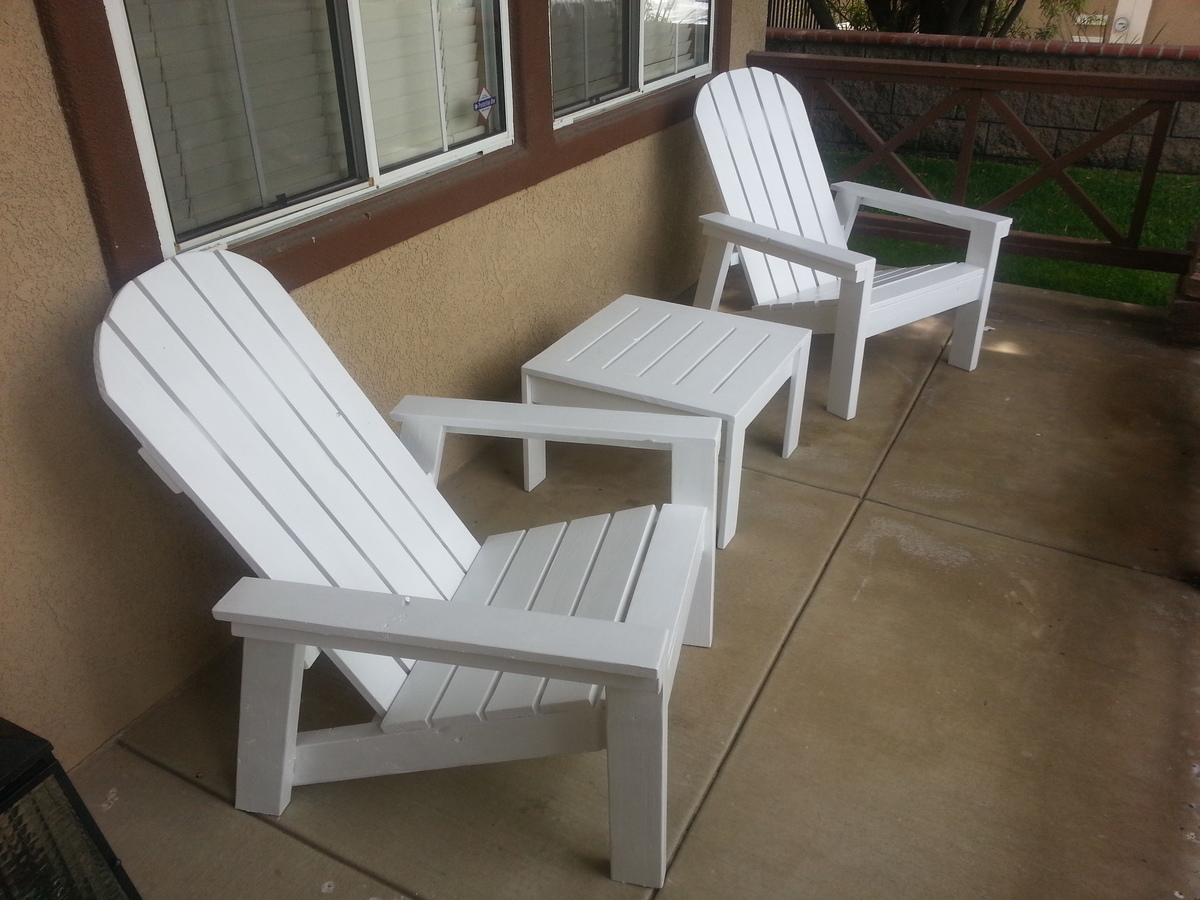 Ana White Home Depot Adirondack Chair Diy Projects