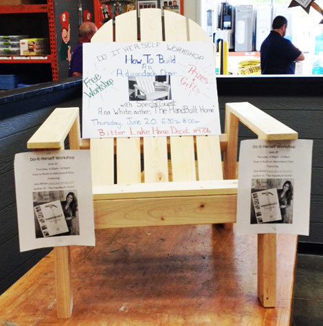 Adirondack Footstool | Free and Easy DIY Project and Furniture Plans