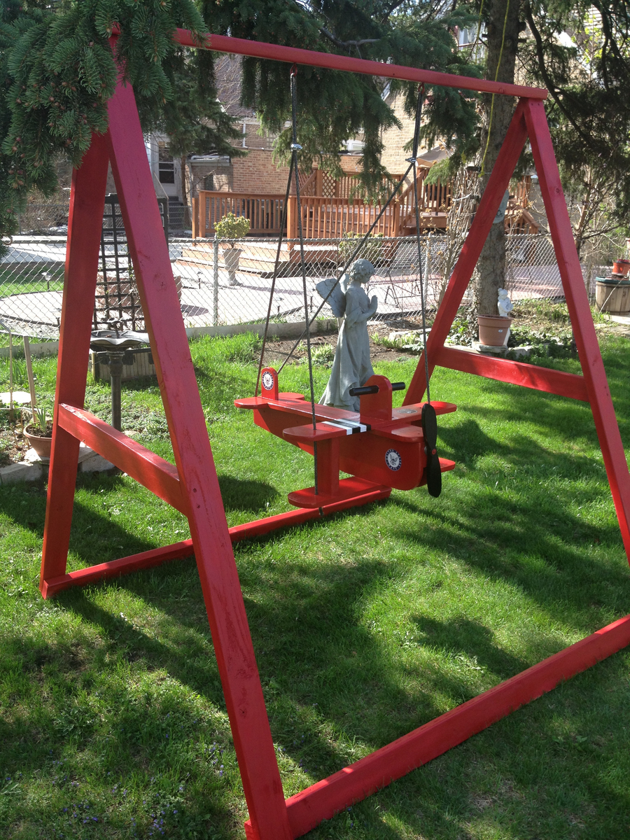 Ana White Child Airplane Swing Diy Projects