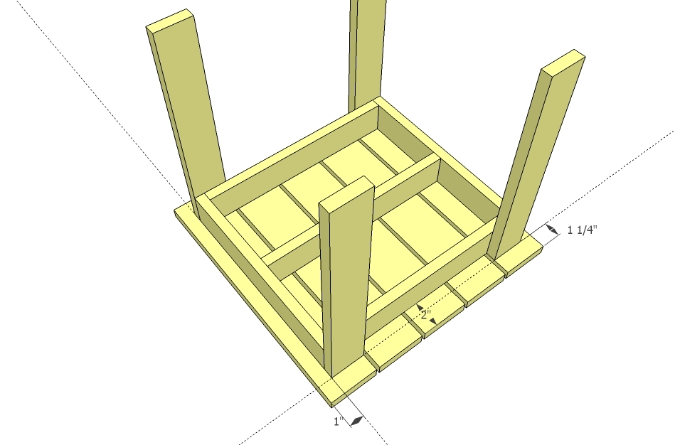 plans outdoor side table