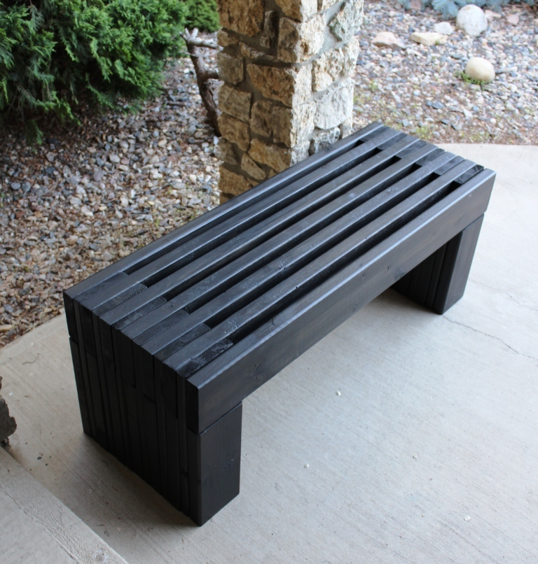 Amazing Outdoor Wood Storage Bench Plans  Quick Woodworking Projects