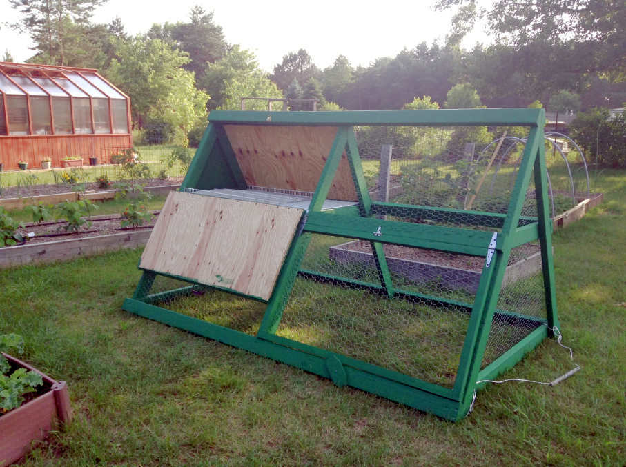 10 diy a frame chicken coop plans these coops are cheap mobile and easy to build for keeping a small flock of chickens the poultry guide pinterest