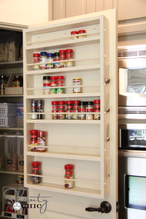 Ana White Door Spice Rack Diy Projects