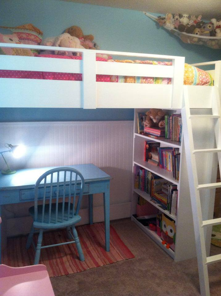Ana White Sweet Girl 39 S Loft Bed Diy Projects