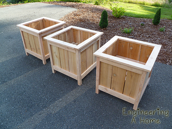 Plans For A Cedar Planter Box