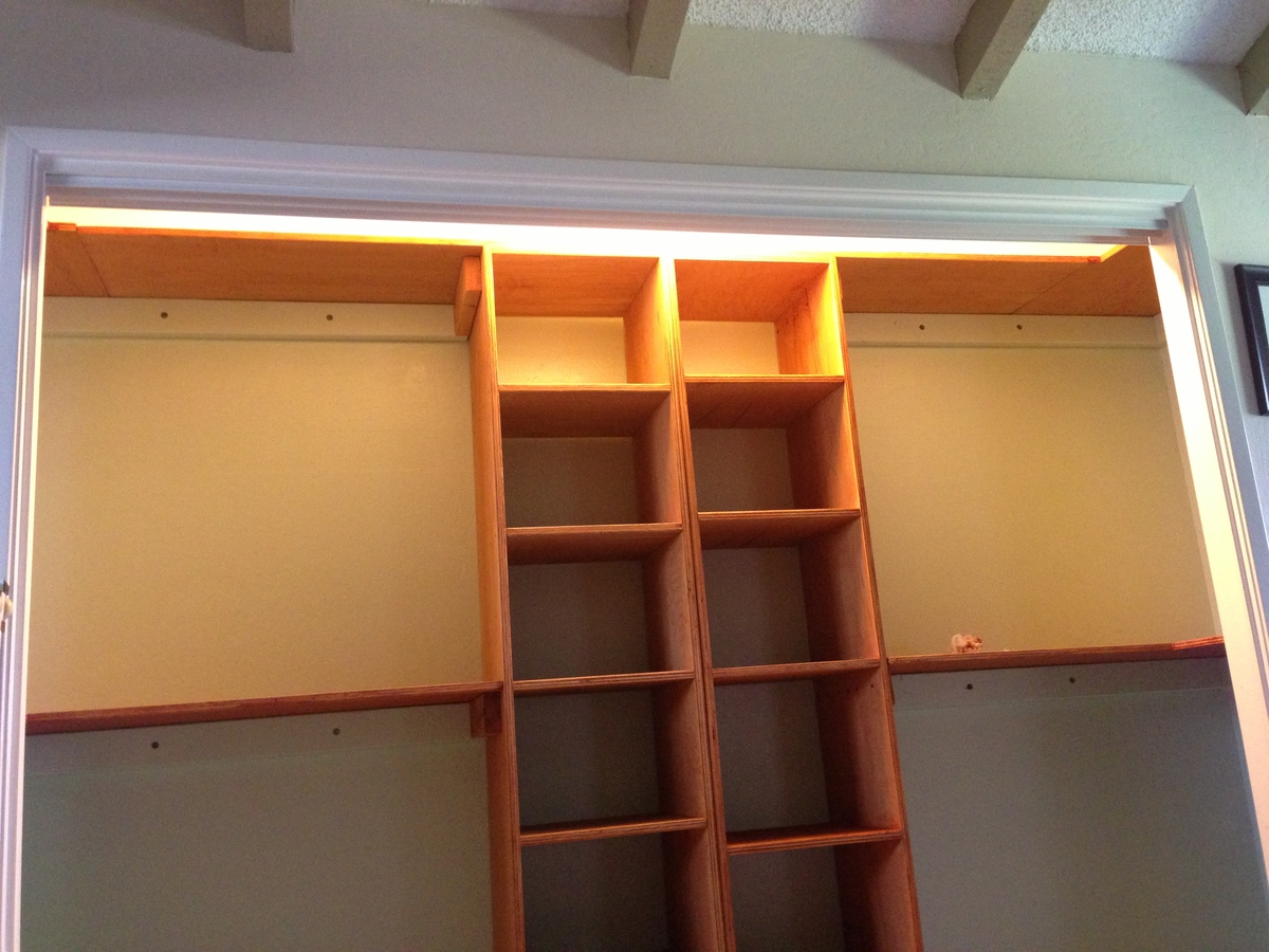 Build Closet Organizer Plywood
