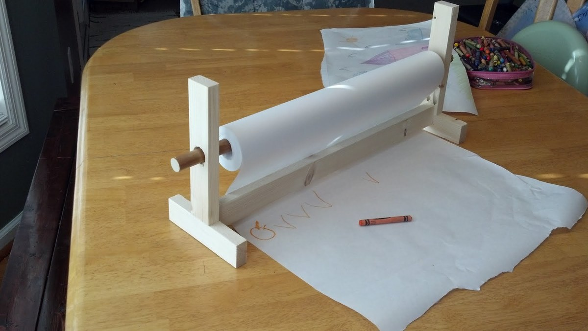Ana White Craft Paper Holder Diy Projects