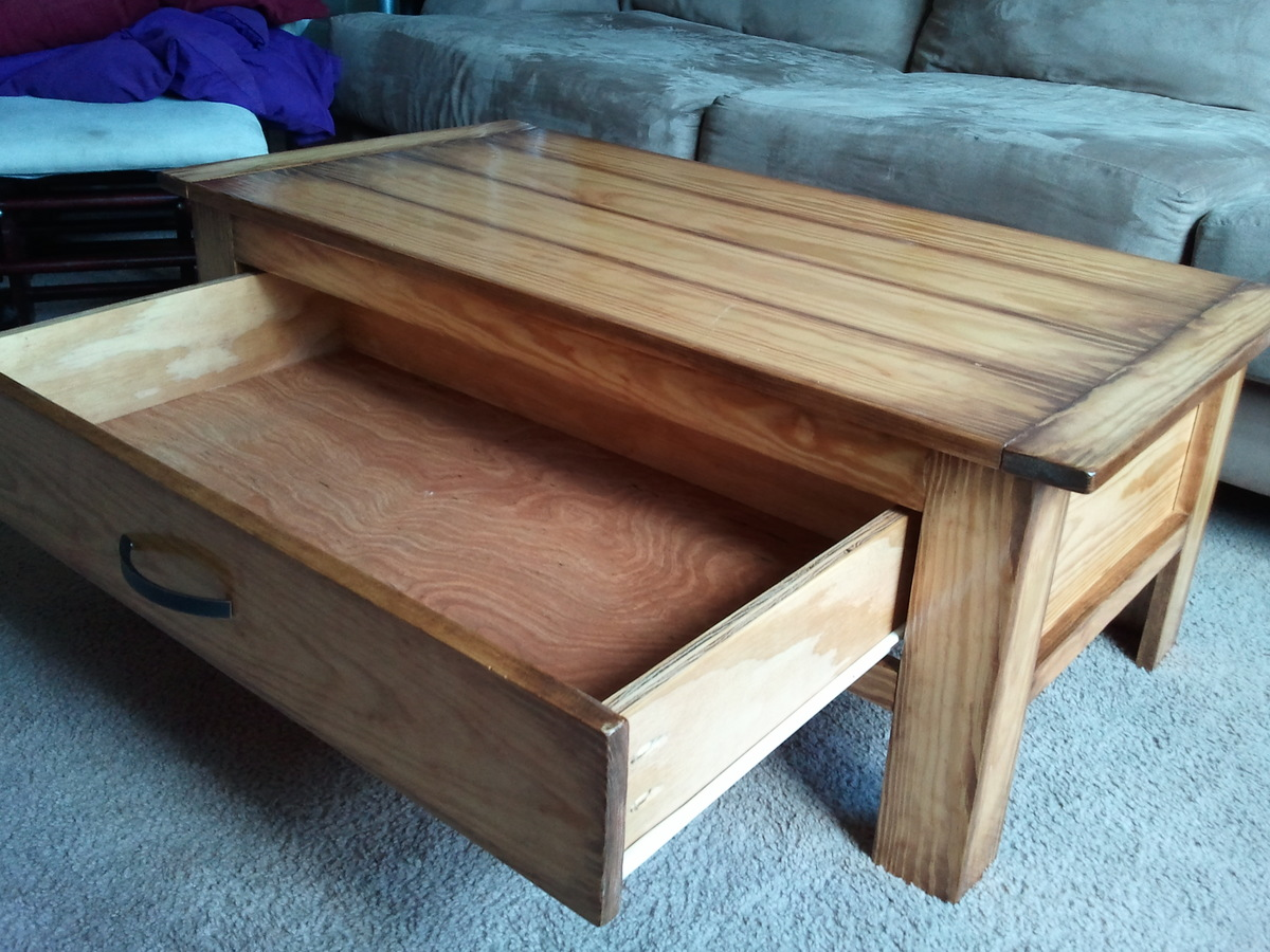 Building A Coffee Table With Drawers Plans Diy Free Download Tv Tray Plans Free Woodworking Ideas