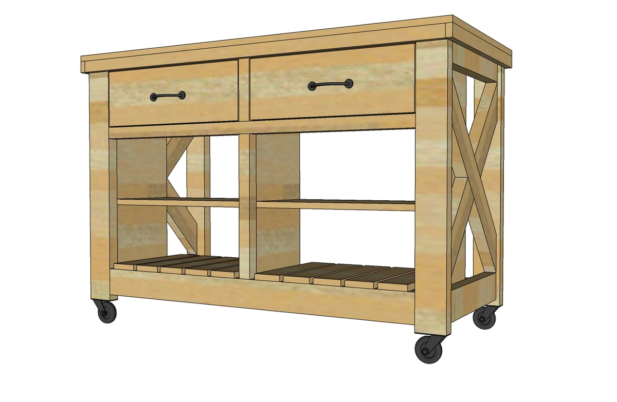 Plans For Kitchen Island Free