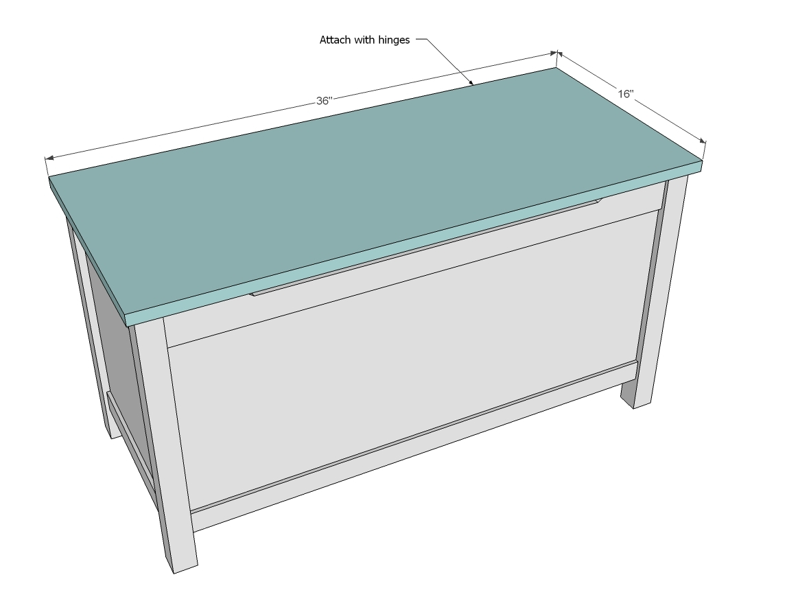 ... toy box plans build a wooden toy box chest toy box plans chest toy