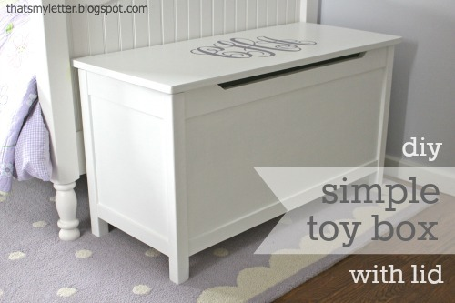 diy plans toy box