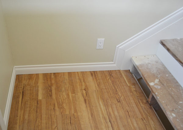 how to finish side of stairs