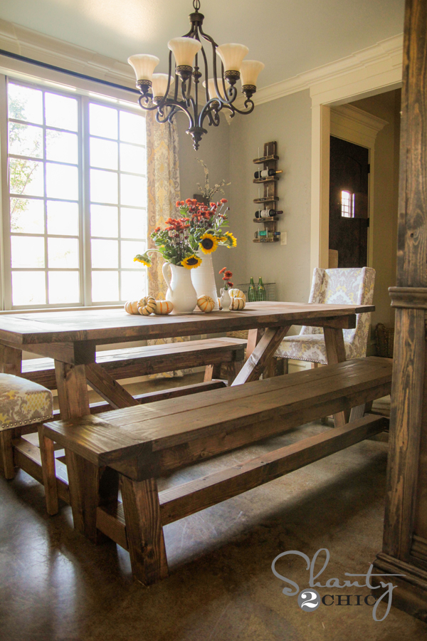 Plans For Dining Table Bench