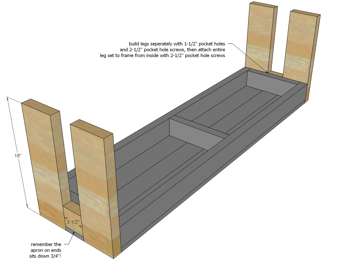 2x4 bench instructions