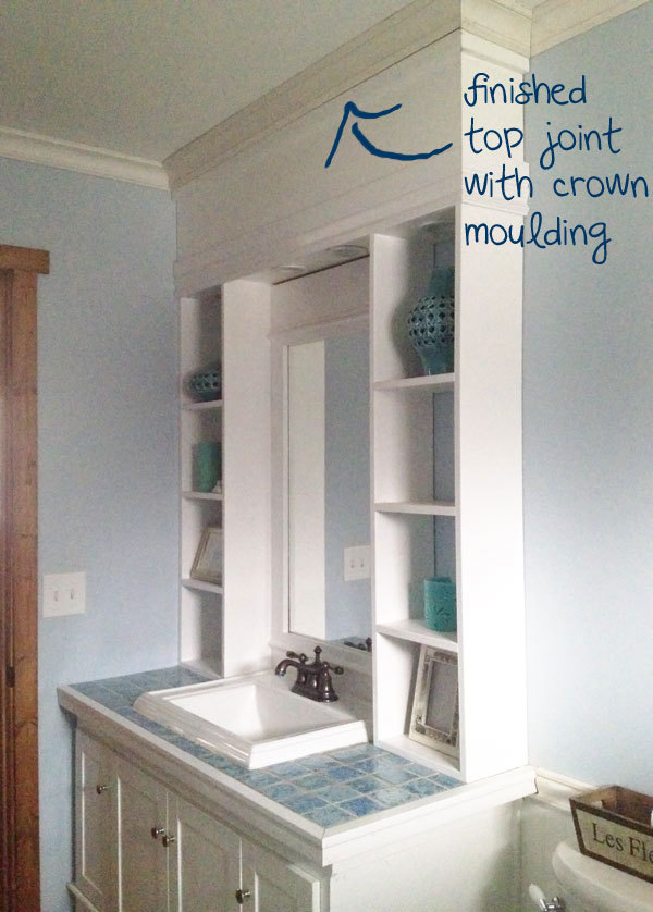 Vanity Hutch With Recessed Lights Ana