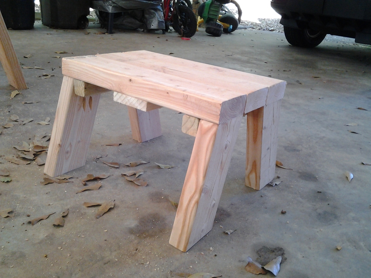 About This Project We Needed A Couple Of Sturdy Step Stools For The. Full resolution‎  picture, nominally Width 2048 Height 1536 pixels, picture with #8E4E3D.