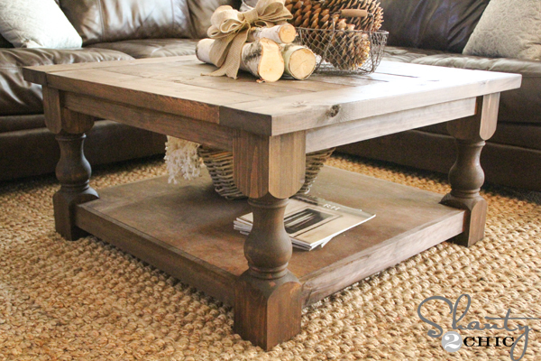 Plans For A Square Coffee Table