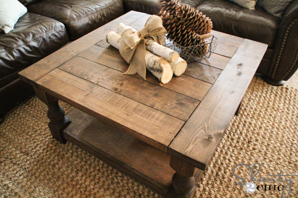 Corona Coffee Table - Square - DIY Projects