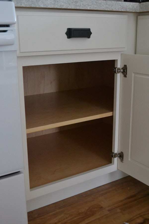 kitchen inside cabinets white 42 quot base blind corner cabinet momplex 21778