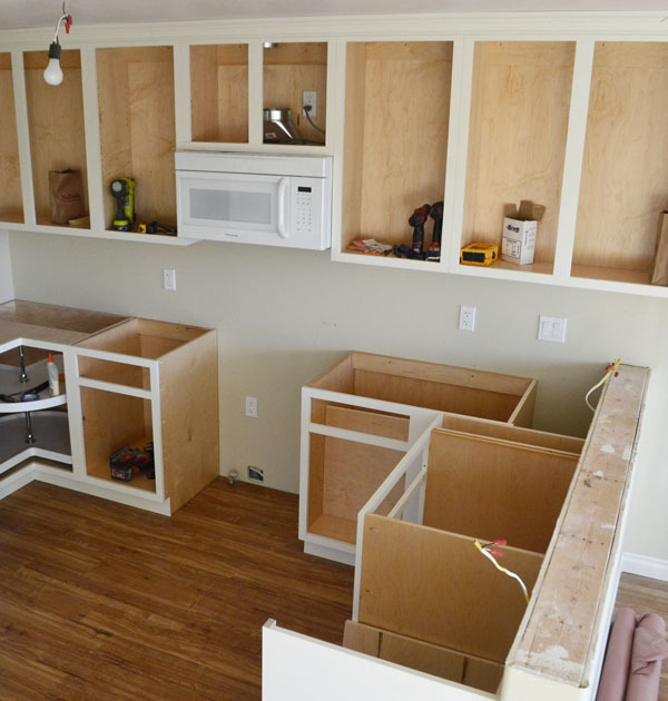 "Kitchen Diy Cupboards: 42"" Base Blind Corner Cabinet - Momplex"