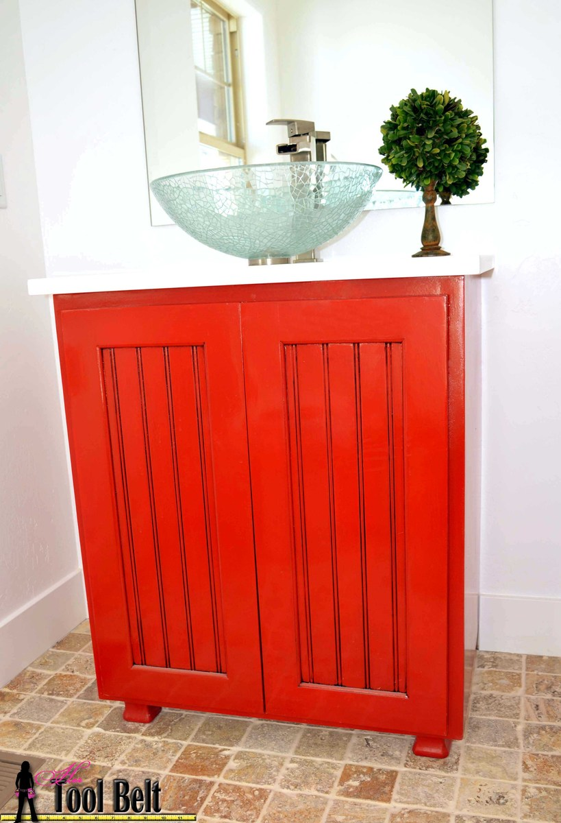 diy vanity cabinet plans joe storage locker form plywood cut american