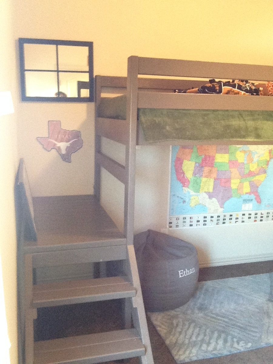 Camp Loft Bed Modified Height Ana White