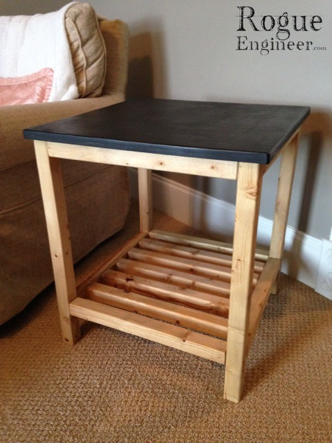 Simple Diy Nightstand With Drawer