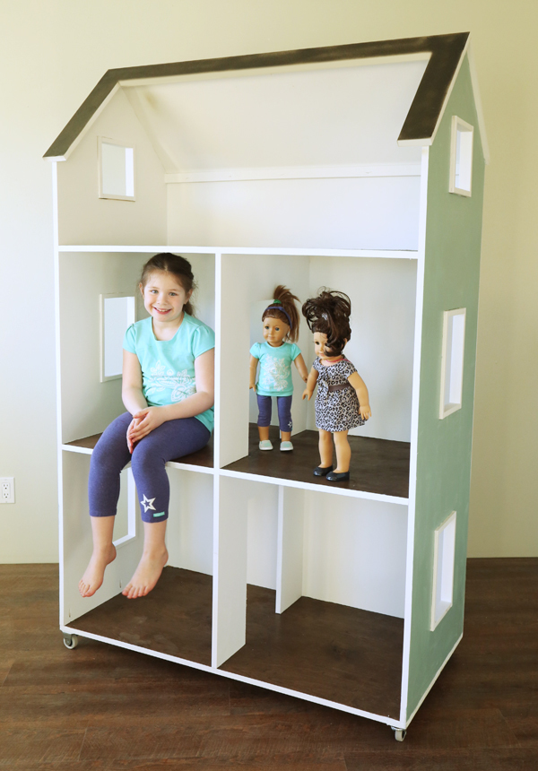Ana White Three Story American Girl Or 18 Dollhouse