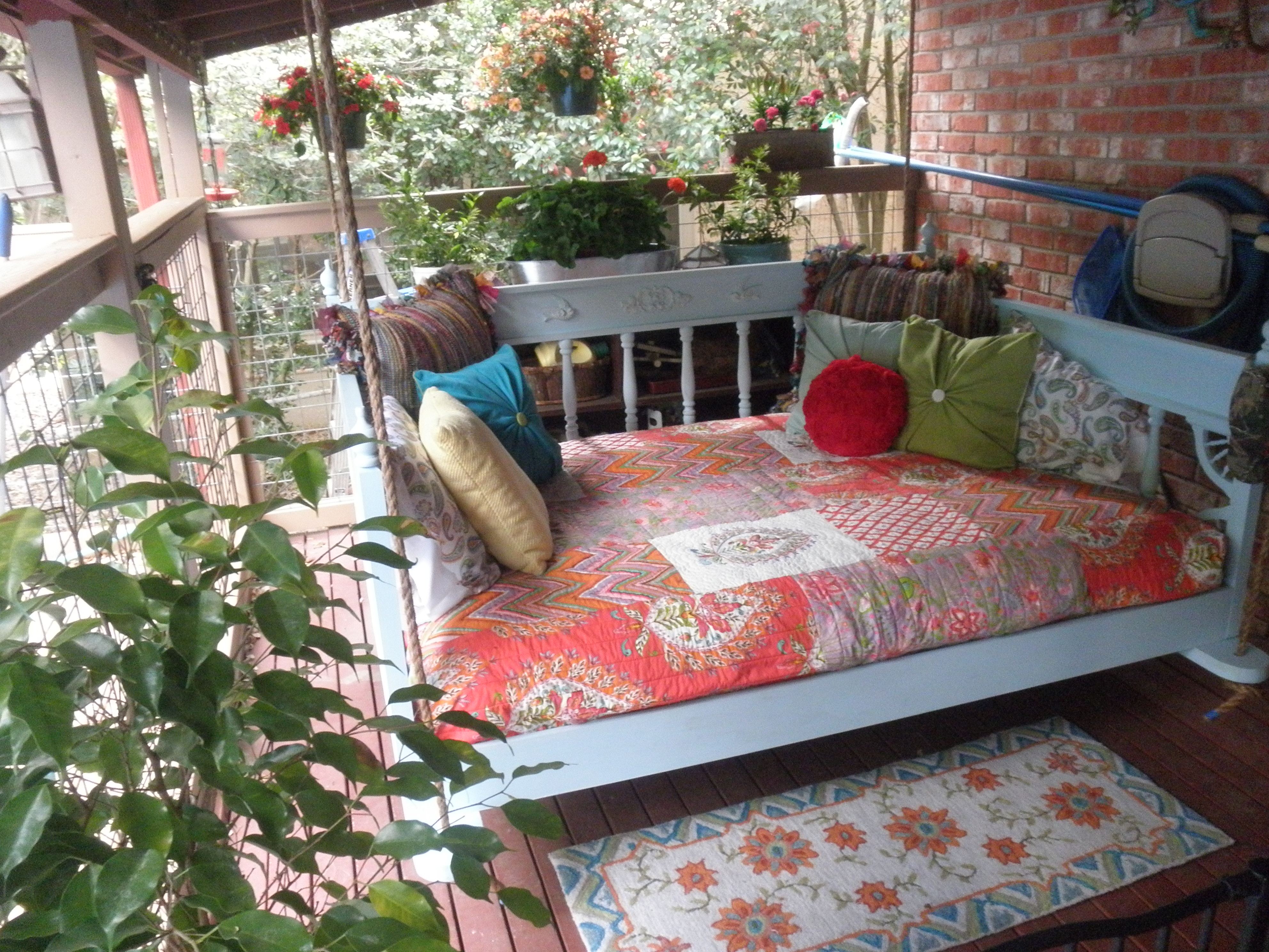 Our Porch Swing Bed Ana White