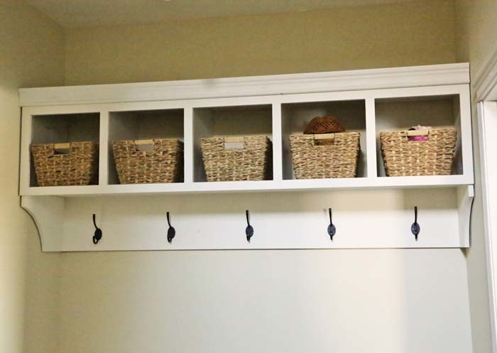 diy cubbies