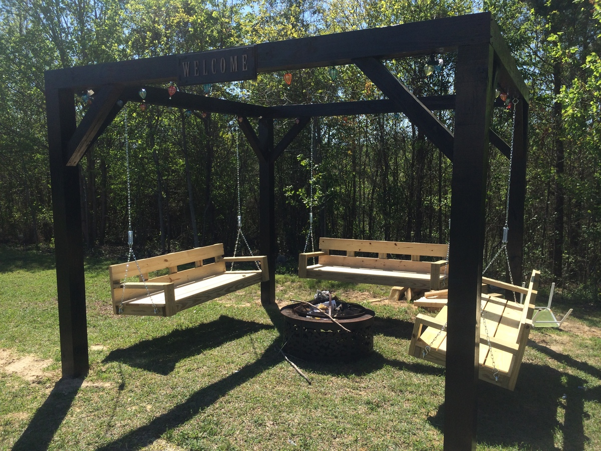 Ana White Fire Pit Swings Diy Projects