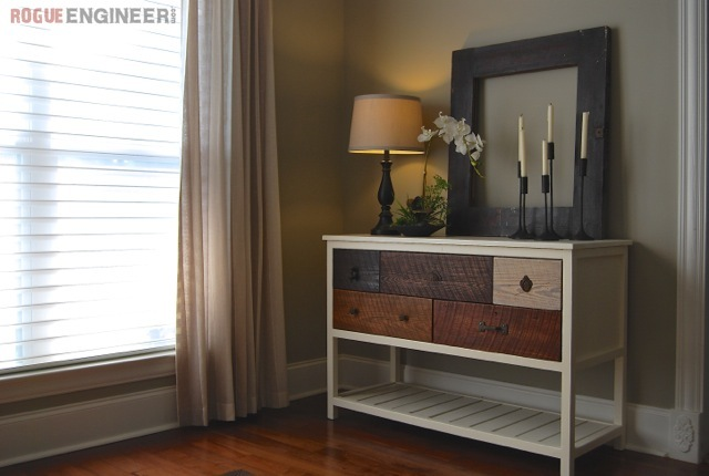 Reclaimed Wood Console Table Ana White