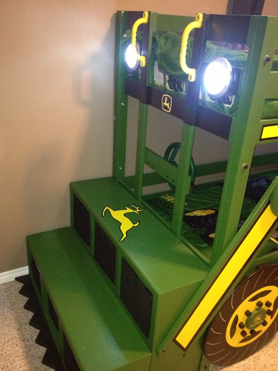 diy john deere bunk bed plans