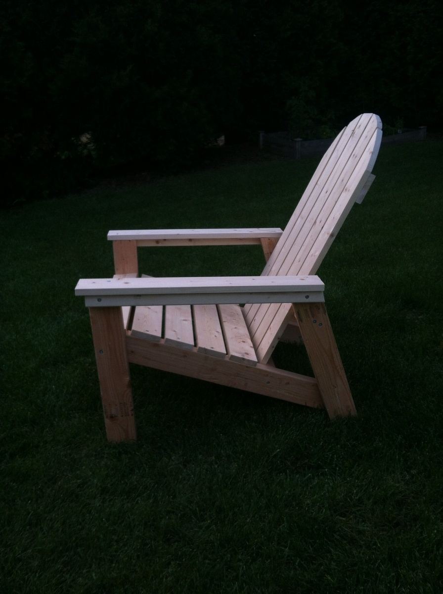 Adirondack Chairs And Table Thanks Ana With Crate