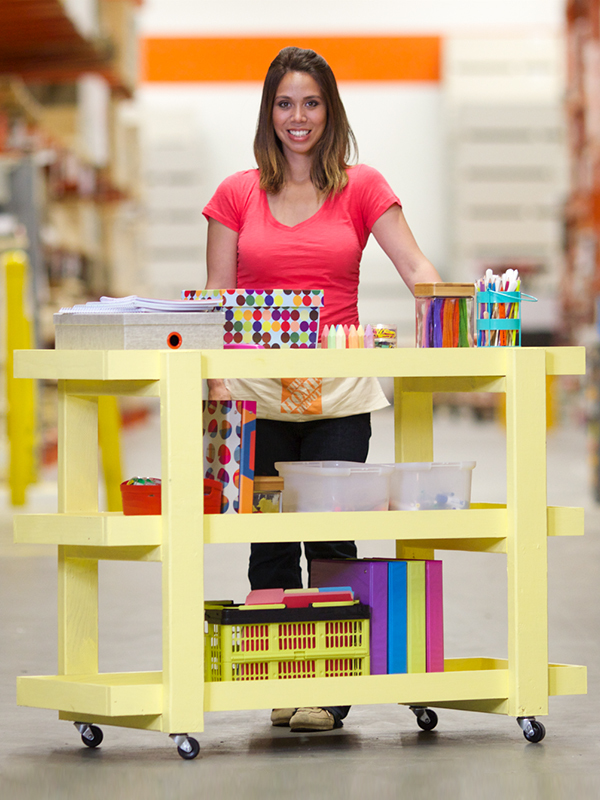 ... Rolling Storage Cart | Free and Easy DIY Project and Furniture Plans
